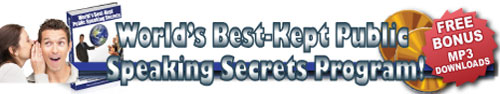 Worlds Best Kept Public Speaking Secrets